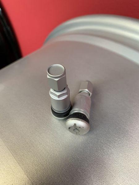 Ventil 11,5mm Silber Matt