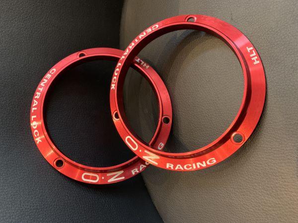 Zentralverschluss Ring Rot