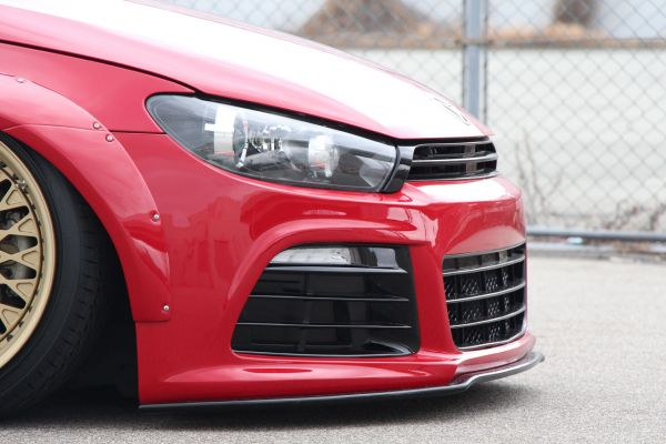 Front Lip Spoiler für R (Carbon)