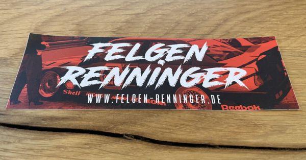 FELGENRENNINGER ROT Sticker