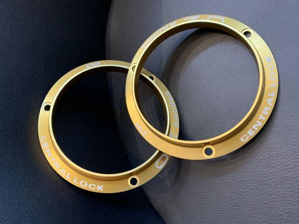 Zentralverschluss Ring Gold