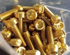 M7x24.5 Titan Gold